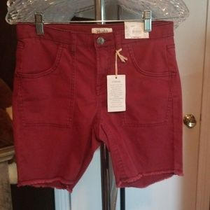 Mudd Low Rise Bermuda Shorts